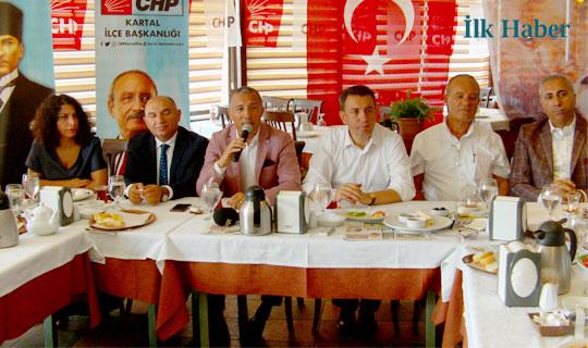 CHP Kartal Basın İle Bir Araya Geldi