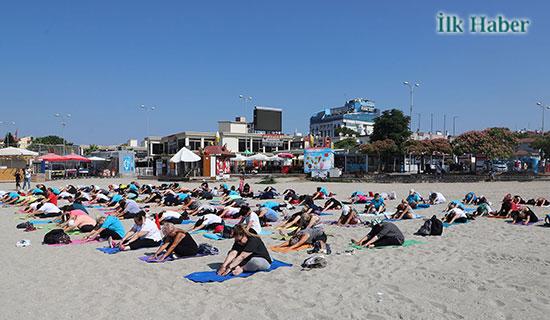 Yoga Vatandaşları Buluşturdu