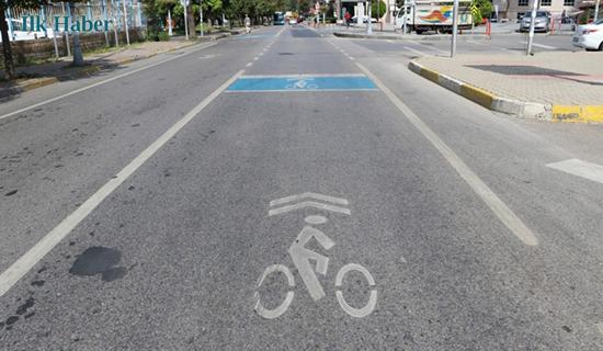 Beykoz'da Bisikletliler İçin Mavi Noktalar