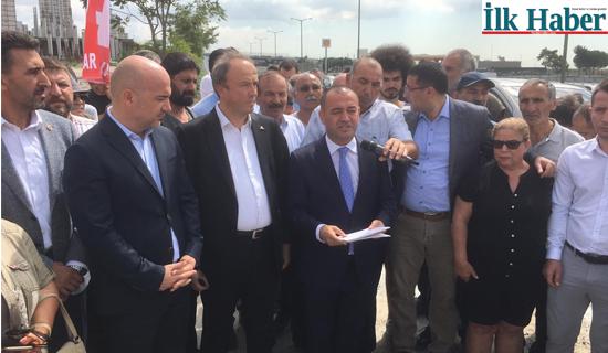 CHP'li Karabat :İstanbul'a İhanete Devam Ediyorlar