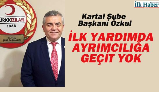 """Kartal Şube Başkanı Hüseyin Özkul'dan """"Dünya İlk Yardım Günü"""" Açıklaması"""