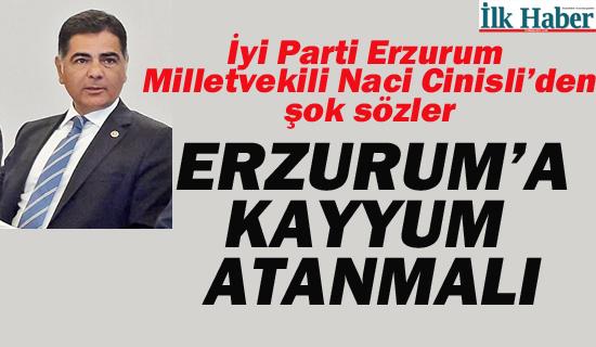 Erzurum'a Kayyum Atanmalı