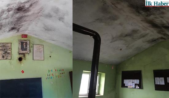 Siverek'te Utandıran Okul Binası