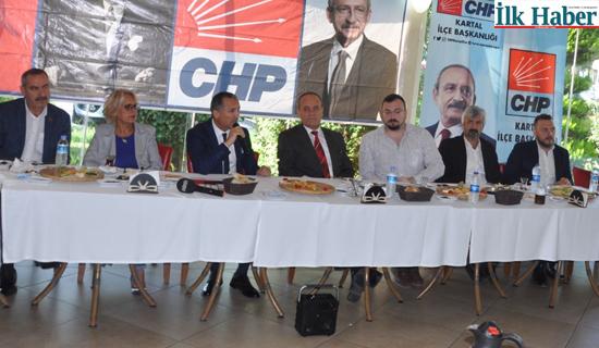 """CHP Kartal İlçe Başkanı Çelebi """"Örgütümün Emrindeyim"""""""