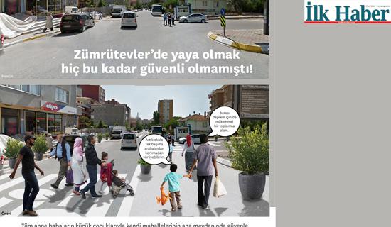 Yaya Güvenliği Dönüşüm Provası Türkiye'de İlk kez Maltepe'de Başlıyor