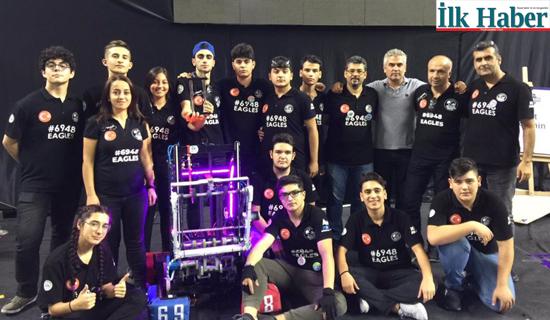 Şehit Öğretmen Hüseyin Ağırman MTAL Robot Takımı Eagles Türkiye Şampiyonu Oldu