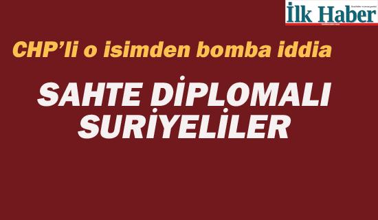 Sahte Diplomalı Suriyeliler