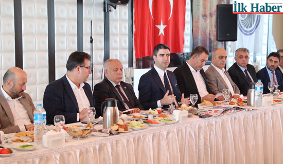 Kartal Belediye Başkanı Yüksel, Gazetecilerle Bir Araya Geldi