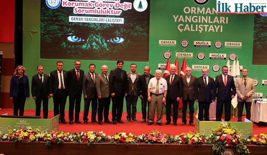 Türkiye'nin İlk Orman Yangın Çalıştayı Muğla'da Yapıldı