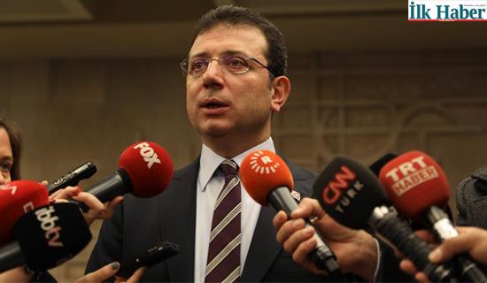 """İmamoğlu'ndan Bakan Çavuşoğlu'na Yanıt """"Bakan Nereye Uçurur Bilemem"""""""