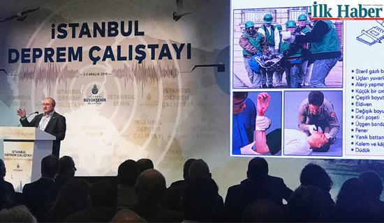Deprem Çalıştayı'nda Bina Güvenliği ve Eğitime Vurgu Yapıldı