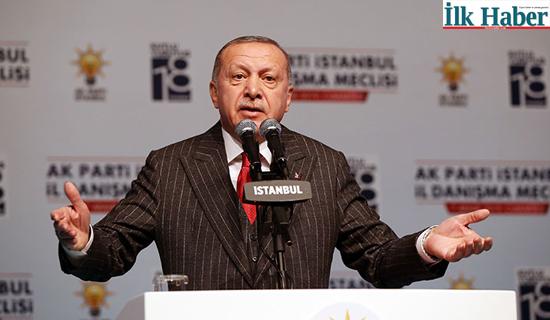 """AKP Genel Başkanı Erdoğan'dan, Eski yol Arkadaşlarına """"Halk Bankasını Dolandırmaya Çalışıyorlar"""""""