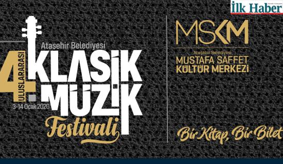 Ataşehir 2010 Yılana Klasik Müzik Festivaliyle Giriyor