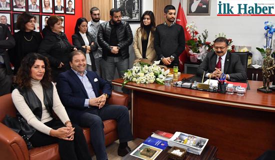 Ali Kılıç'tan Yeni İlçe Başkanı'na Tebrik Ziyareti
