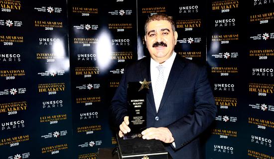 Palandöken Belediyesi'ne İdeal Kent Ödülü