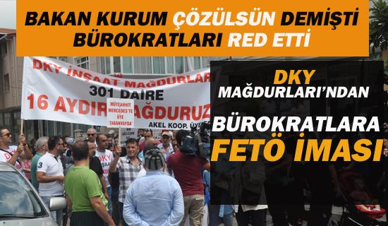 DKY Mağdurları'ndan Bakanlık Bürokratlarına FETÖ İması