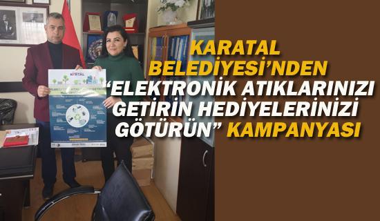 """Kartal Belediyesi'nden """"Elektronik Atıklarınızı Getirin Hediyelerinizi Götürün"""" Kampanyası"""