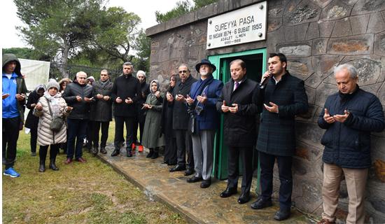 Süreyya Paşa Vefatının 65. Yılında Kabri Başında Anıldı