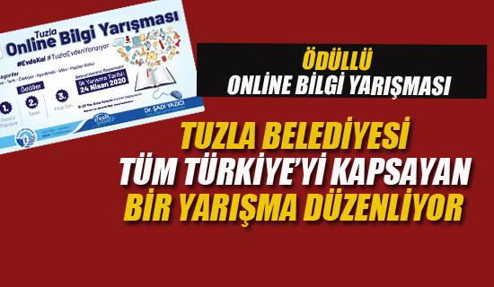 Tuzla Belediyesi, Tüm Türkiye'yi Kapsayan Bir Yarışma Düzenliyor