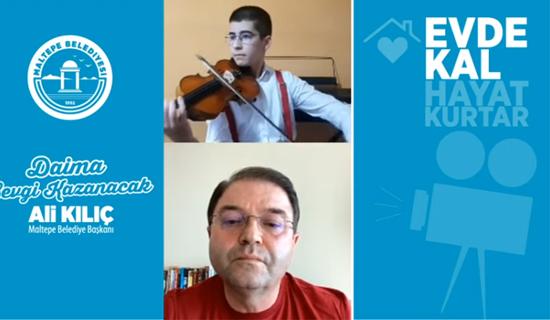 Nobel Ödüllü Müzisyen Ali Kılıç İle Canlı Yayında Buluştu