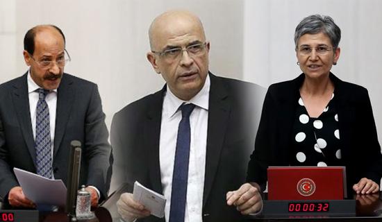 Milletvekillikleri Düşürülen Üç Milletvekili Tutuklandı