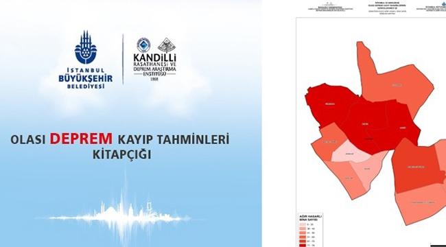 İBB'den Her İlçeye Olası Deprem Kayıp Tahmini Kitapçığı