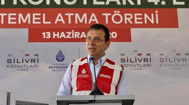 """İmamoğlu """"İstanbul'un Çılgın Projesi Depremle Mücadeledir"""""""