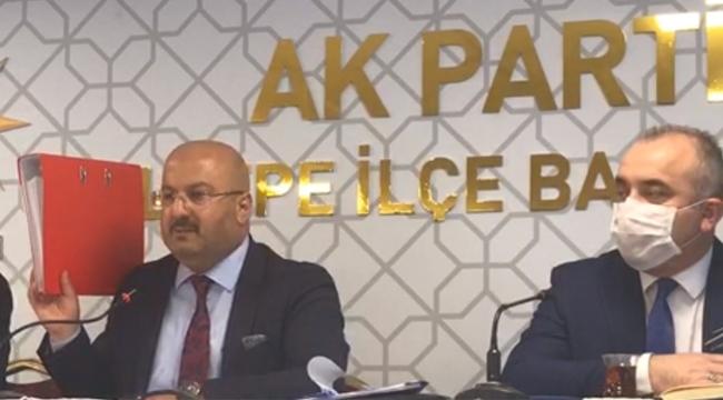 """AK Parti İlçe Başkanı Erikçi """"Ali Kılıç Hakkında Suç Duyurusunda Bulunduk"""""""