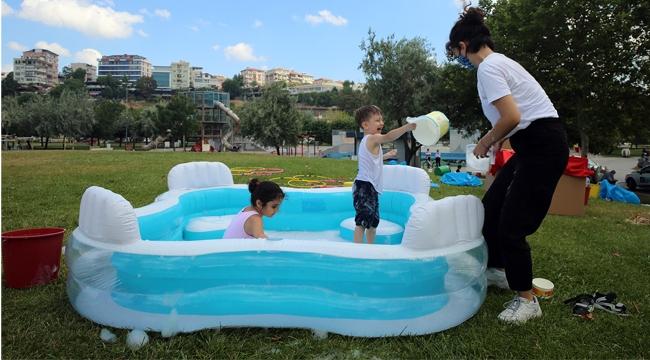 İBB Seyyar Oyun Parklarını Çocukların Ayağına Götürüyor