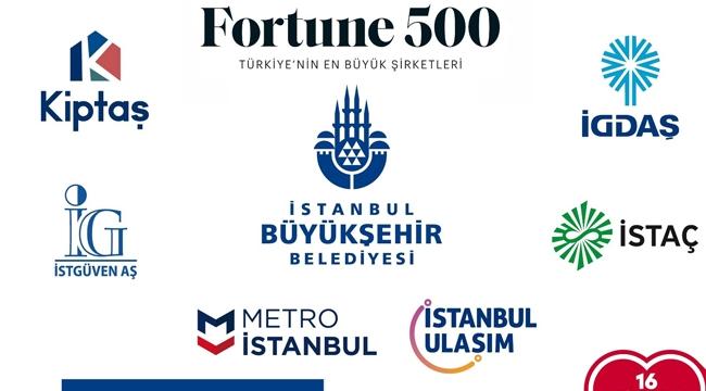 İBB Şirketleri Fortune Türkiye İlk 500'de