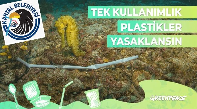 Kartal Belediyesi'nden Greenpeace'nin Kampanyasına Destek