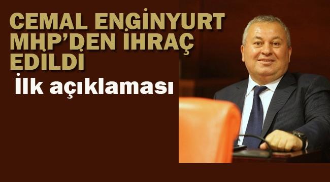 MHP Milletvekili Cemal Enginyurt Partisinden İhraç Edildi.