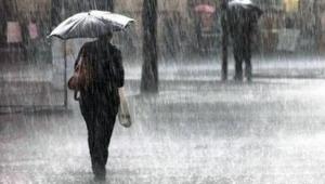 Sıcaklar Yarın Yerini Yağmura Bırakıyor