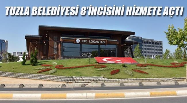 Tuzla Belediyesi, 8'inci Sosyal Tesisini Açtı