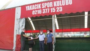 Kartal Belediyesi'nden Spor Kulüplerine Ateş Ölçüm Cihazı