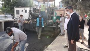 Belediye Başkanı Yüksel, Çalışmaları Yerinde İnceledi