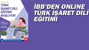 İBB'den Online Türk İşaret Eğitimi