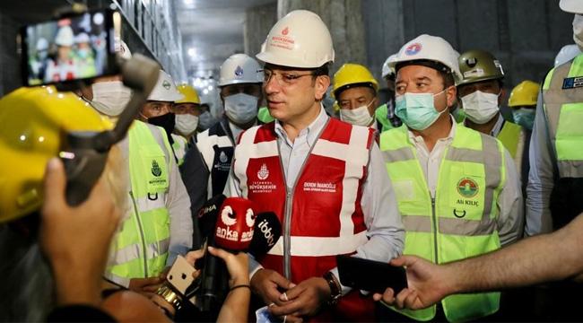 """İmamoğlu'ndan """"Yeni Havalimanı Metrosu"""" Yanıtı"""