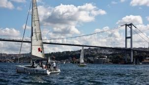 İstanbul Boğazında Yelken Şöleni