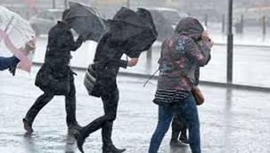 Meteoroloji'den Sağanak Yağış ve Kuvvetli Rüzgar Uyarısı