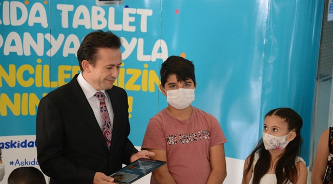 """Tuzla Belediyesi'nden """"Askıda Tablet"""" Kampanyası"""