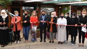 Tuzla'da, Kadınların Ürettiği Organik Ürünler, Gönül Elleri Çarşısında Satılacak