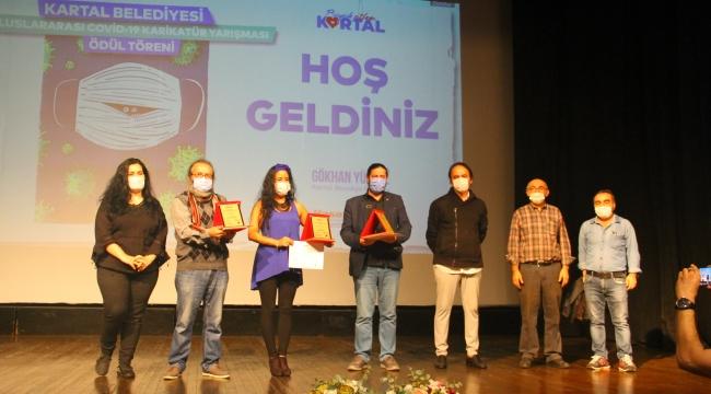 CHP'li Belediye'nin Düzenlediği Uluslararası Ödüllü Covid-19 Karikatür Yarışması Sonuçlandı