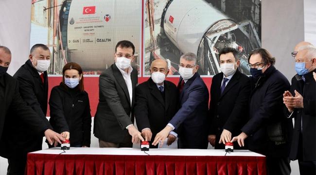 """İmamoğlu """"Hedef Yılda 20 KM Metroyu İstanbullulara Kazandırmak"""""""