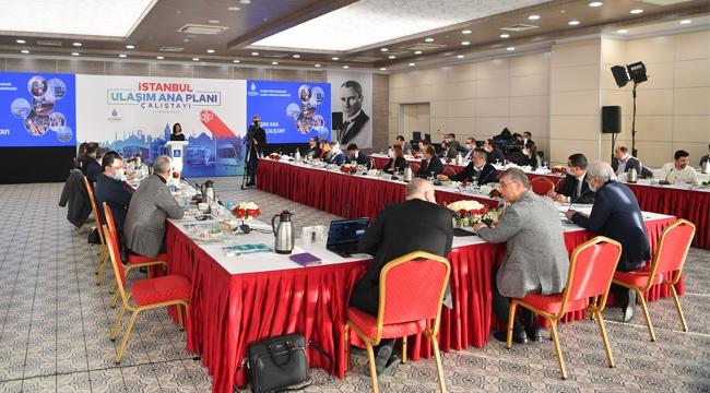 İstanbul Ulaşım Ana Planı Koordinasyon Çalıştayı Gerçekleştirildi