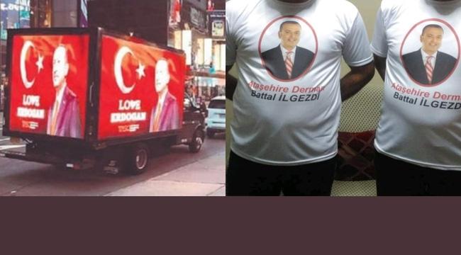 Battal İlgezdi'ye Tişört'lü Kutlamaya Tepki