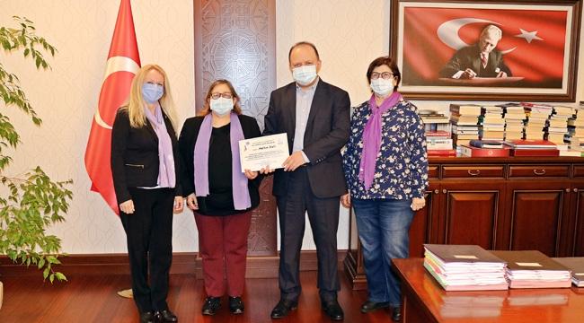 Maltepe Cumhuriyet Kadınları Derneğinden Kaymakam Dallı'ya Nezaket Ziyareti