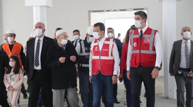İBB Başkanı Ekrem İmamoğlu, Kartal'ı Ziyaret Etti