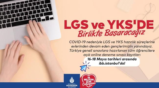 İBB'den Öğrencilere LGS-YKS Sınav Desteği