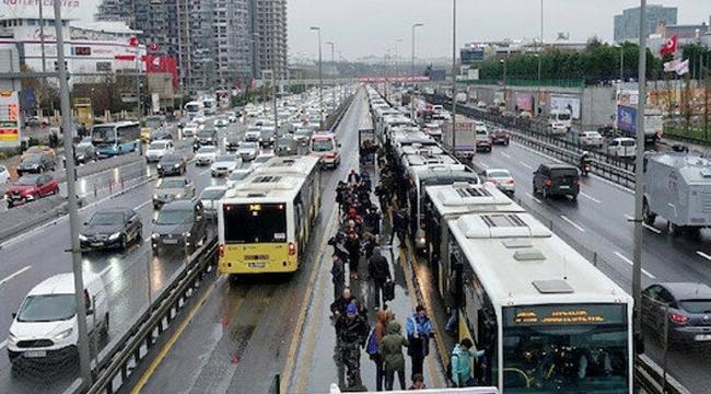 """İBB'den Toplu Taşımaya """"Tam Kapanma"""" Düzenlemesi"""